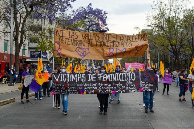 Marcha del 8-M en Ciudad de