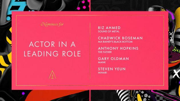 배우 스티븐연이 미국 아카데미 시상식 남우주연상 최종 후보에 이름을