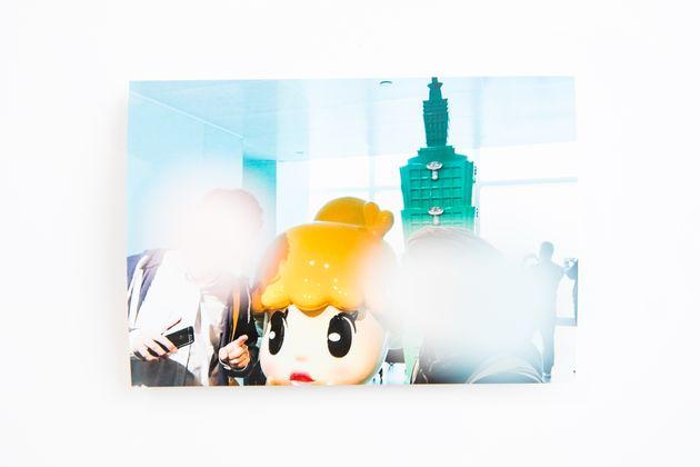 旅行で訪れた台湾101展望台