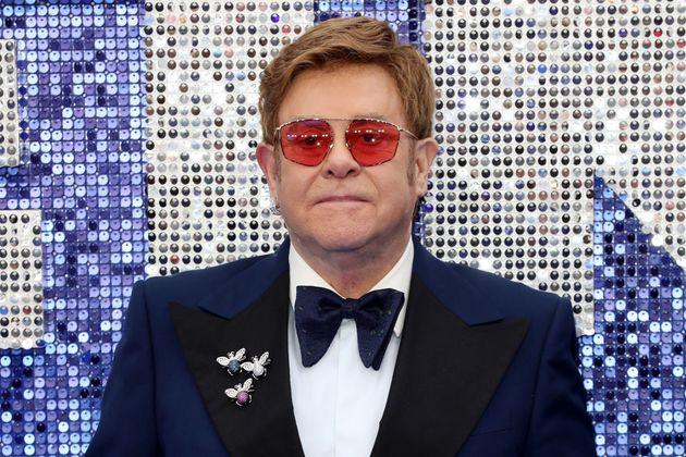 Sir Elton John attends the Rocketman UK