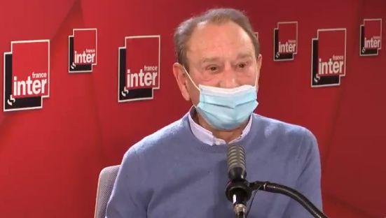 Capture d'écran de Bernard Delanoë, au micro de France Inter, ce mardi 16 mars