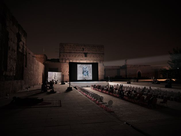 Projection View_Les Recontres de la Photographie de Marrakech 2019_The Truth is in the Soil
