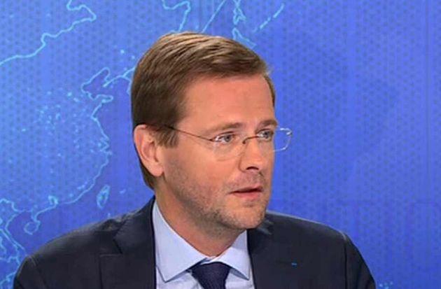 Jérôme Lavrilleux sur le plateau de