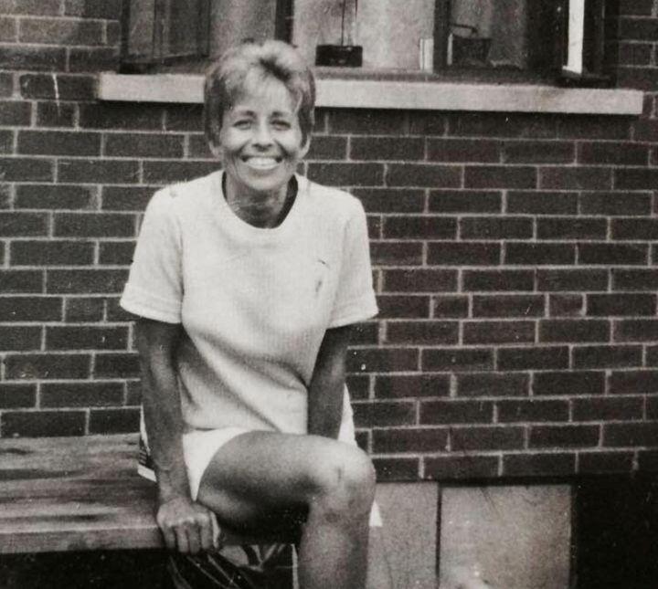 La madre del autor a mediados de los 60.