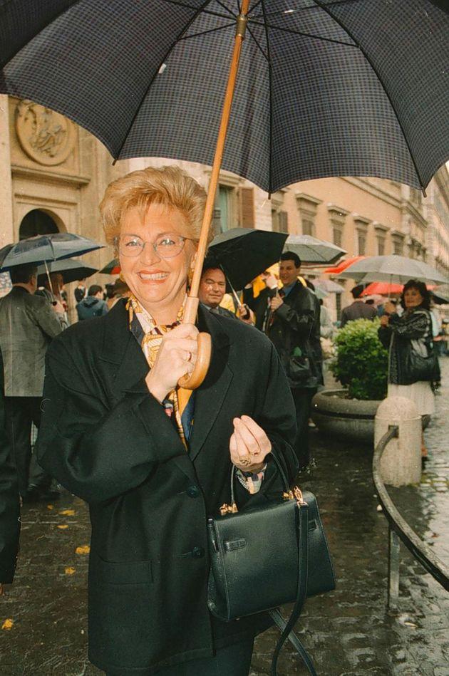 Ombretta Fumagalli Carulli in una foto d'archivio.