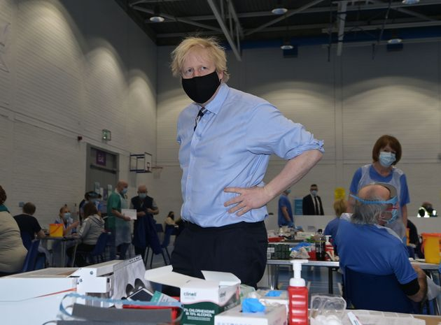 If vaccine takeup drops, Boris Johnson would have no choice but to keep the country under