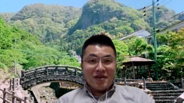 サイボウズで働く前川さん。ビジネスネームは旧姓の森を使用している。