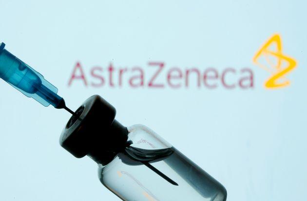 Un vial de la vacuna de