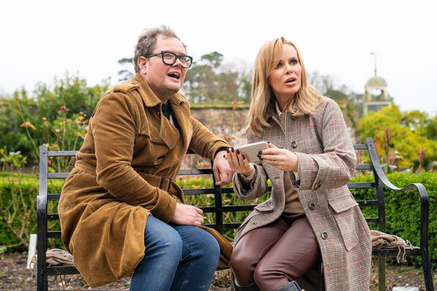 Alan is teaming up with Amanda Holden on DNA