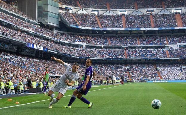 Partido en el estadio Santiago