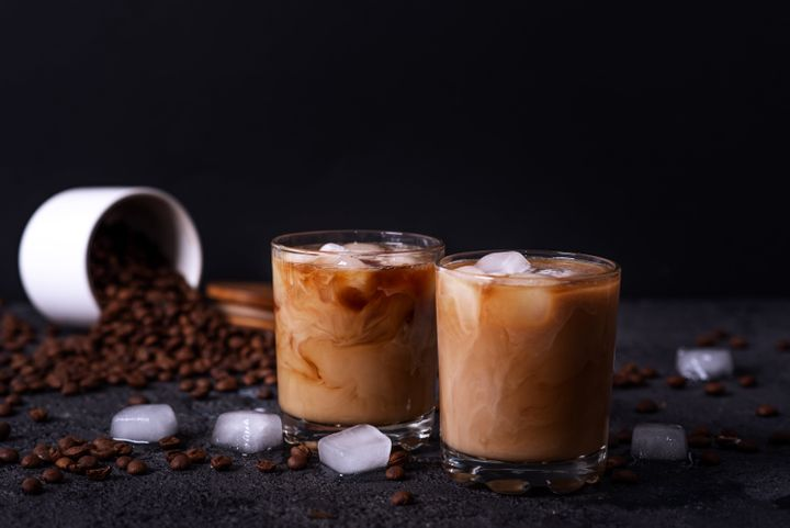 The caramel syrup in your caramel macchiato contributes a significant amount of sugar and calories.