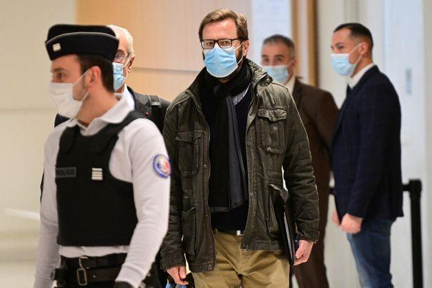Jerome Lavrilleux photographié au tribunal correctionnel de Paris ce mercredi 17