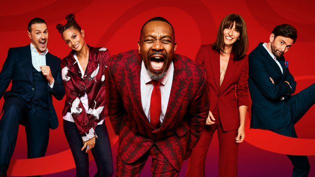 Paddy McGuinness, Alesha Dixon, Lenny Henry, Davina McCall and David Tennant are this year's