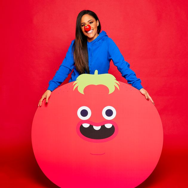 The One Show's Alex Scott is taking part in a Red Nose And Spoon