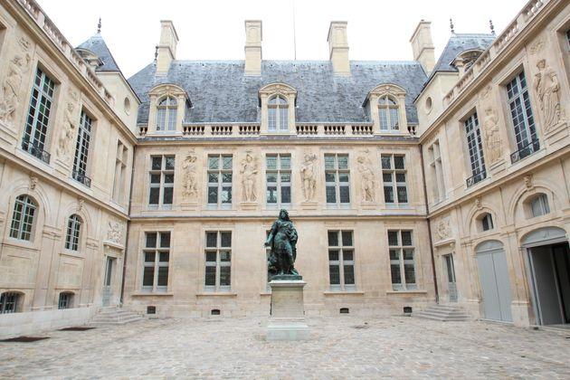 La cour du musée Carnavalet à