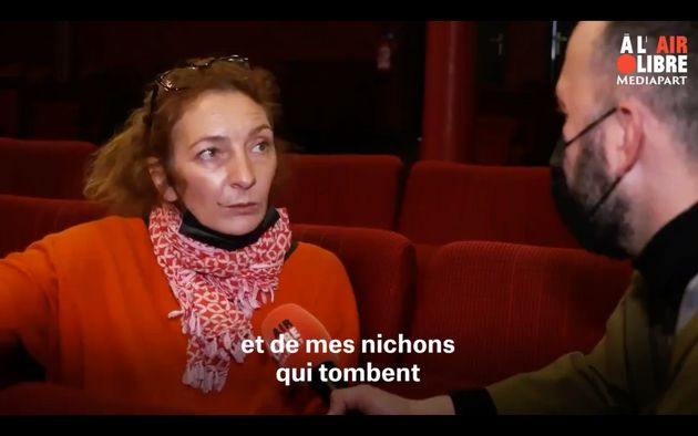 L'actrice Corinne Masiero interrogée par Mediapart le mercredi 17 mars
