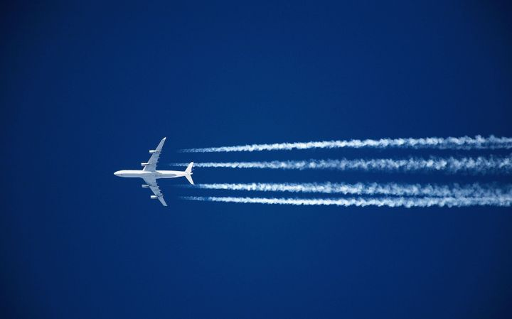 Planes contrails are believed to have a potentially significant warming impact.