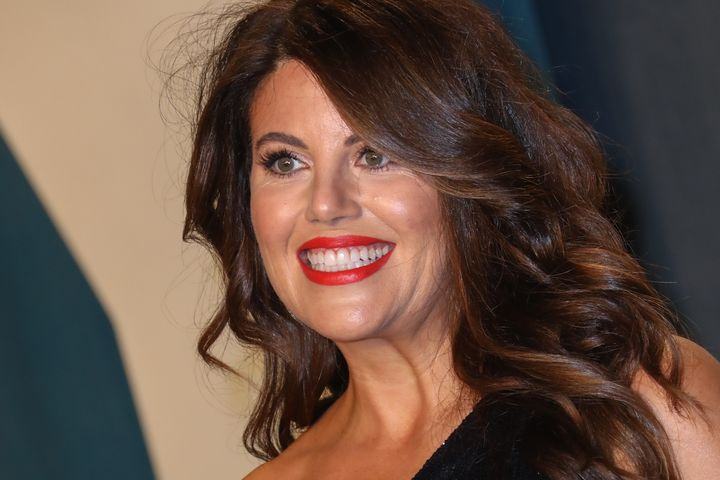 Monica Lewinsky, shown here at the 2020 Vanity Fair Oscar Party in Beverly Hills, shares a simple reaction on events in the 1
