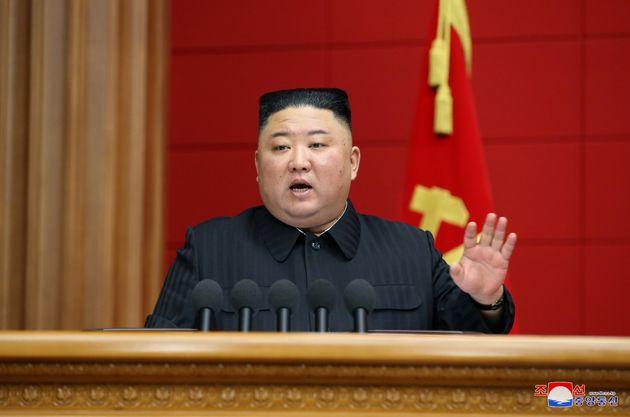 Kim Jong Un, ici à Pyongyang en Corée du Nord, sur une photo non datée publiée...