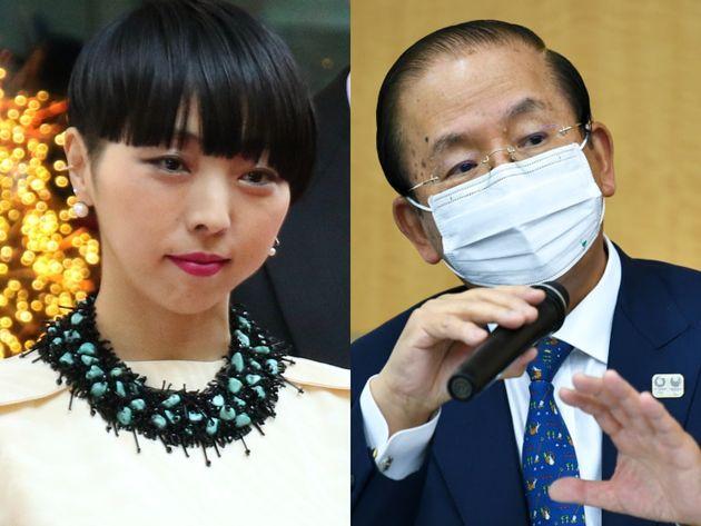 振付師のMIKIKOさん、組織委の武藤敏郎事務総長