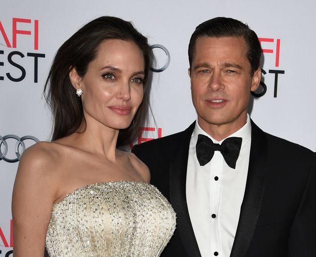 Angelina Jolie et Brad Pitt lors de l'avant-première de