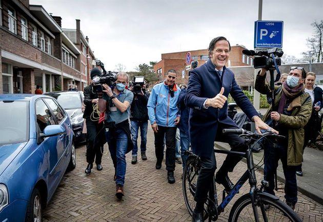 Mark Rutte en la jornada