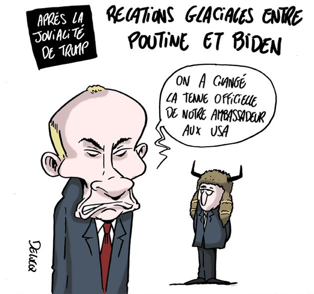 Brutal refroidissement climatique entre Joe Biden et Vladimir Poutine | Le  HuffPost
