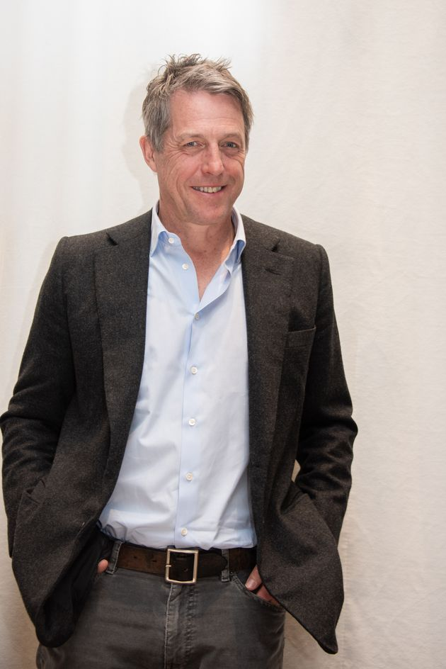 Hugh at a press event for The Undoing in March