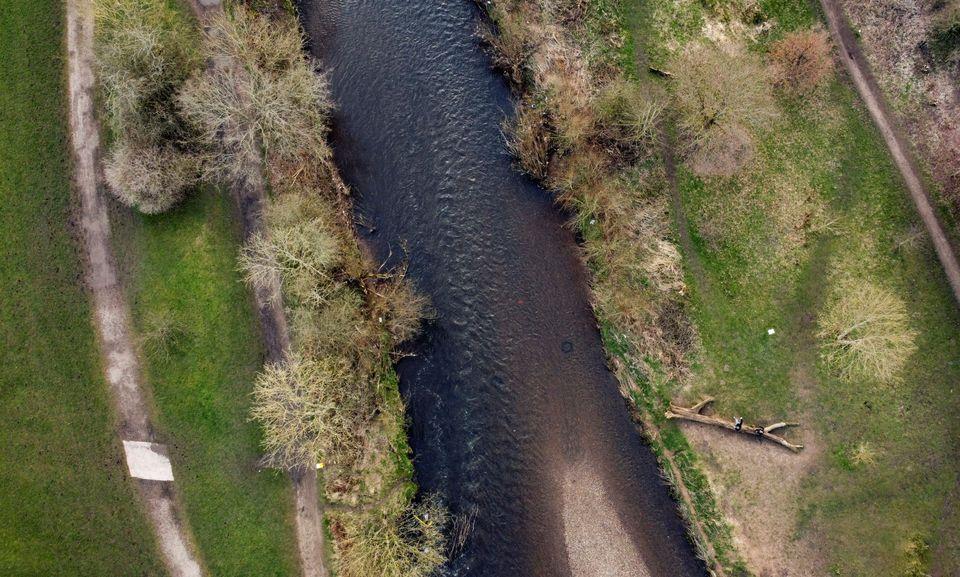 Αποψη του ποταμού Τέιμ,...