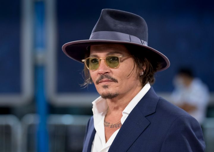 Depp attends the 'Crock of Gold: A Few Rounds With Shane MacGowan' premiere during the 68th San Sebastian International Film