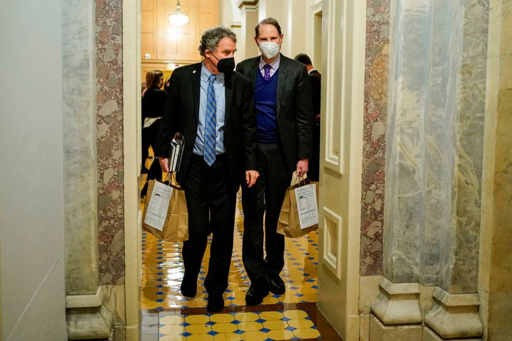 Sens. Sherrod Brown (D-Ohio) and Ron Wyden (D-Ore.) proposed the unanimous consent bill. With Toomey's objection, the fate of