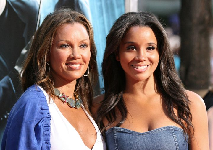 """Vanessa Williams (left) and daughter Jillian attend the """"Harry Potter and the Half-Blood Prince"""" premiere at Ziegfeld Theatre in 2009 in New York City."""