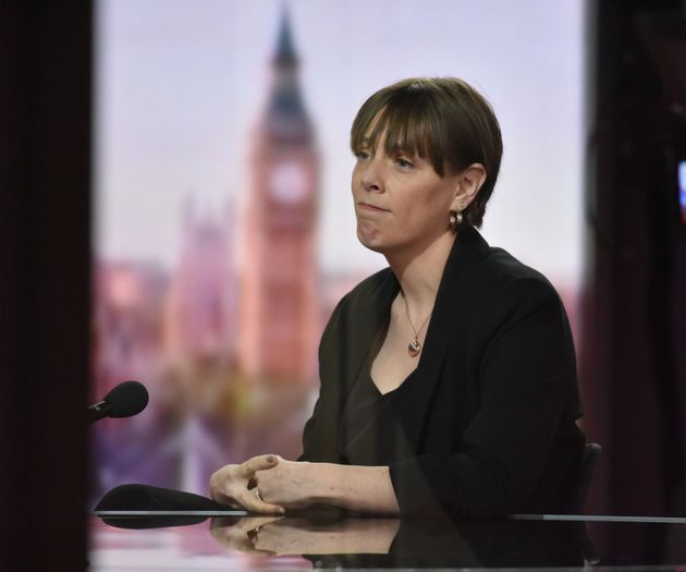 Jess Phillips on the BBC1 current affairs programme, The Andrew Marr