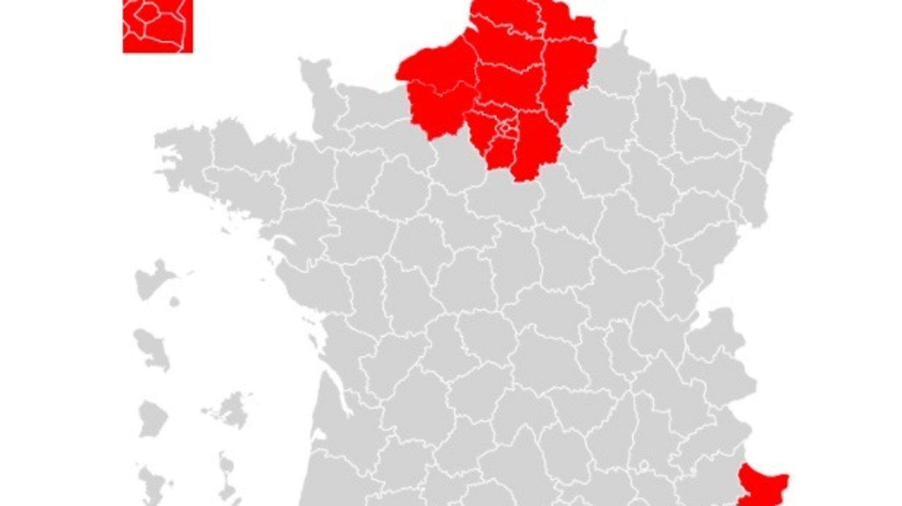 Covid: Castex annonce le confinement de l'Île-de-France, des Hauts-de-France et trois départements