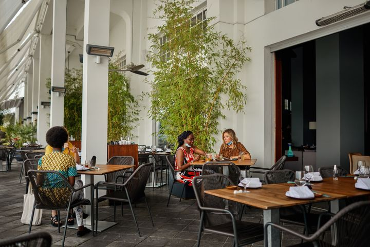 Outdoor dining will likely return and become even more popular this year.