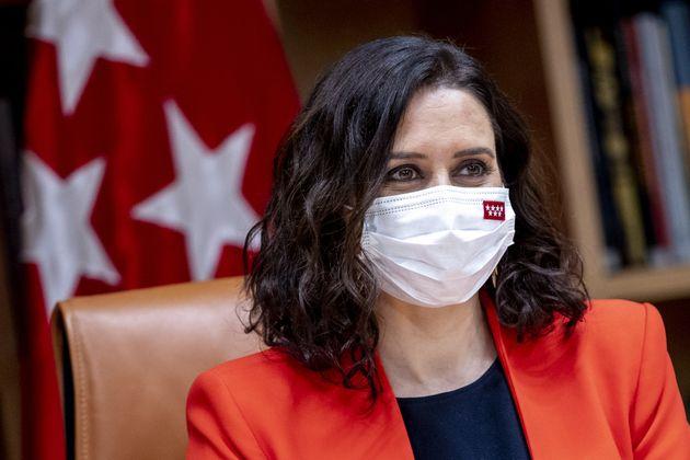 La presidenta de la Comunidad de Madrid, Isabel Diaz