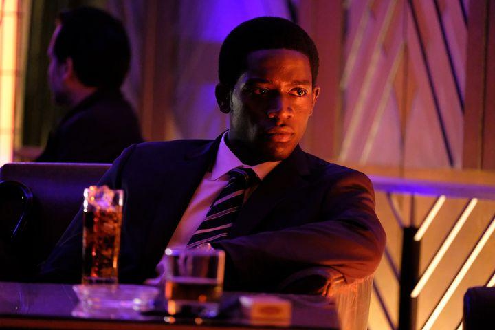 "Damson Idris plays Franklin Saint in ""Snowfall."""