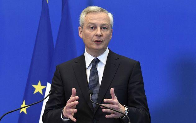 Le reconfinement par Castex de 16 départements coûtera 1,2 milliard (photo de Bruno Le Maire le 10 mars...