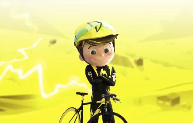 Maxoo, nouvelle mascotte du Tour de France pour