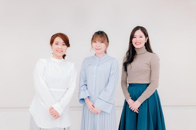 左から「TWANY(トワニー)」宣伝担当の山内美貴子さん、arca