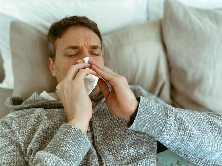 Ataque de alergía