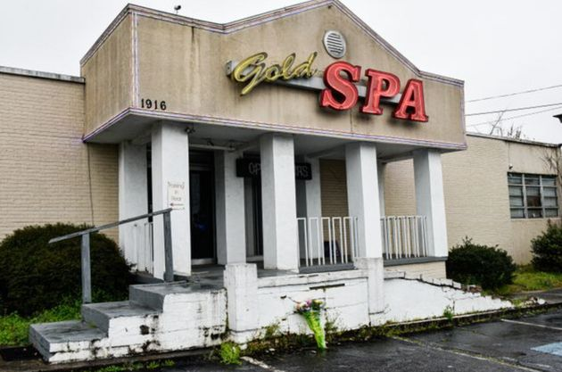 Gold Spa, one of the three Asian massage parlors attacked by a gunman on March 16, 2021. Six Asian women...