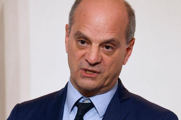 Le ministre français de l'Éducation, de la Jeunesse et des Sports, Jean-Michel Blanquer,...
