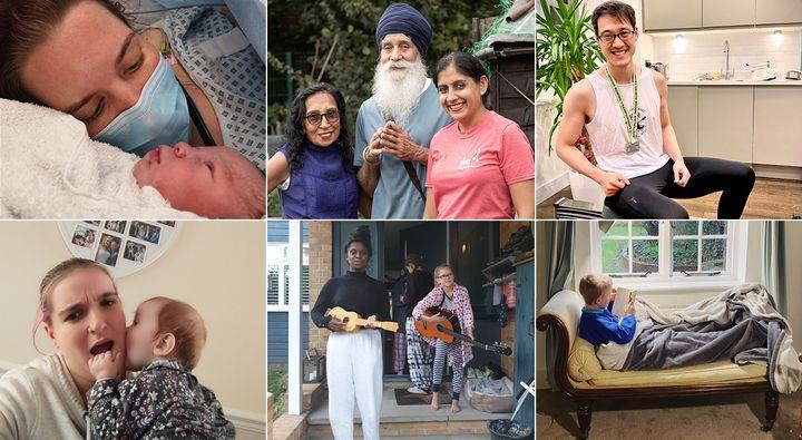 Clockwise from top left: photos supplied by Anna Malnutt,Minreet Kaur,Johnny Luk,Zoe Burnett,Kelly Newton andRachel Jeffcoat.