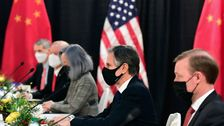 US And China Spar In 1st Face-To-Face Meeting Under Biden