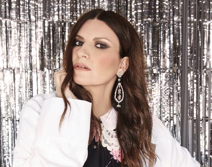 La cantante Laura Pausini.