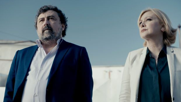 Paco Tous y Amparo Larrañaga, una de las nuevas caras de la
