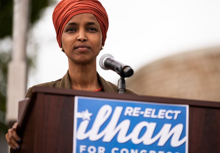 "Rep. Ilhan Omar (D-Minn.), pictured, said it's ""heartbreaking"" to see what has become of the institution sh"