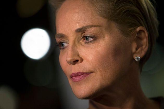 Sharon Stone (ici en octobre 2014 à Hollywood) a découvert que ses parties intimes apparaissaient dans...