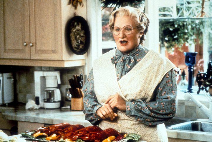 Robin Williams as Euphegenia Doubtfire in